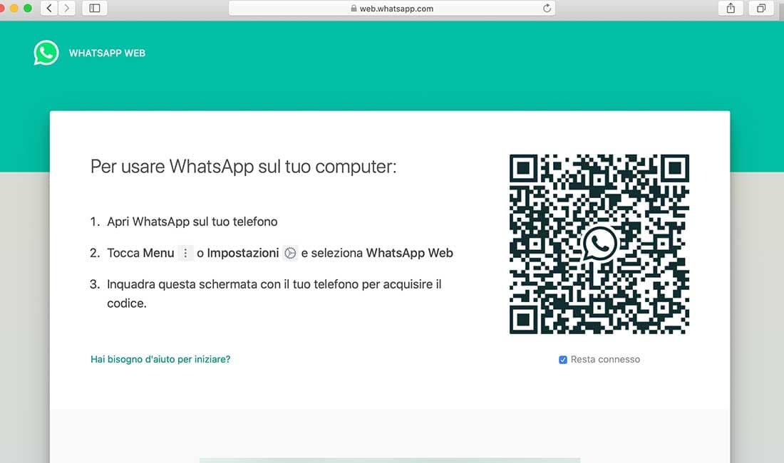 Spiare Whatsapp Web
